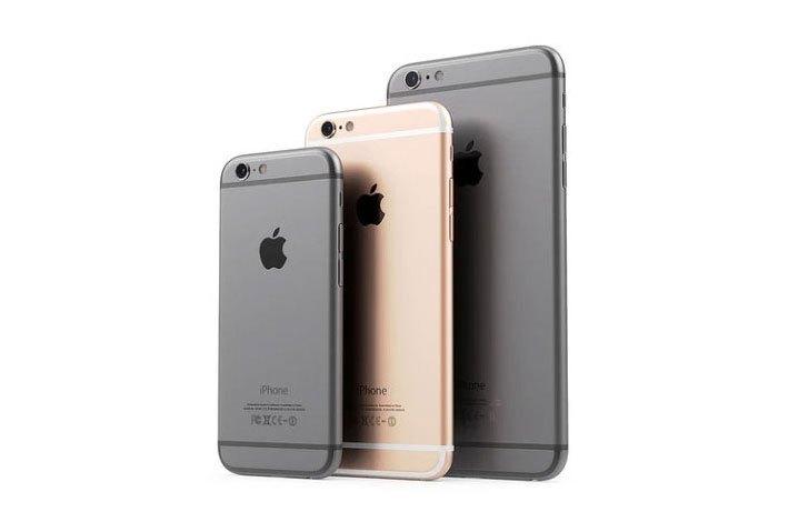 Iphone 5 SE - wprzekątna wyświetlacza 4 cale, Iphone 6S przekątna wyświetlacza 4,7 cala, Iphone 6Splus - przekątna wyświetlacza 5,5 cala
