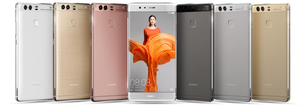 Bardzo dobra Nowości od Huawei modele: P9, P9 Plus, P9 Lite zaprezentowane AN26